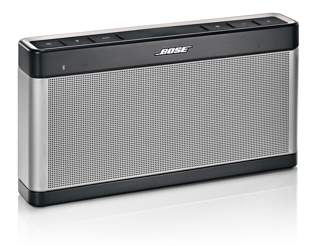 Enceinte bluetooth portable Bose SoundLink III ~ Enceinte Bluetooth Bois
