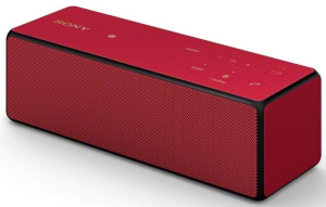 Sony SRS X33 rouge bluetooth
