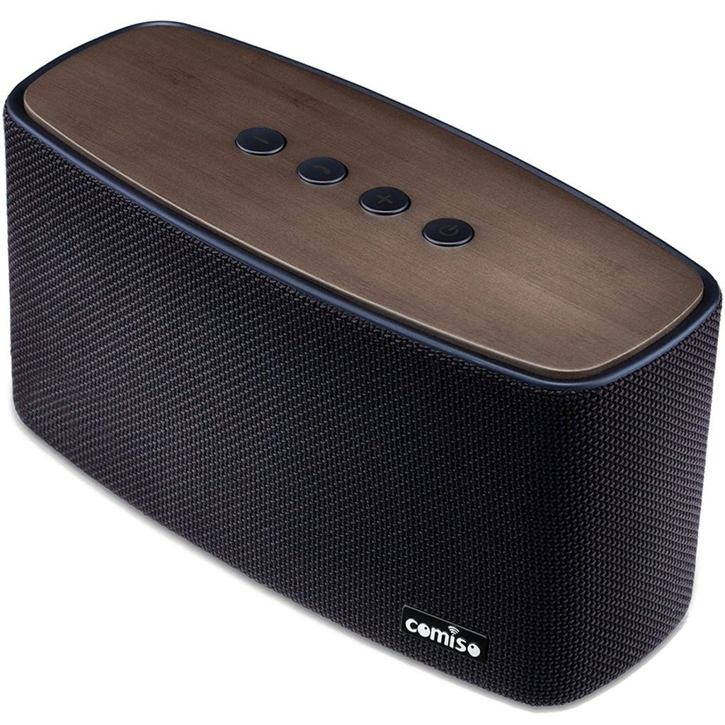 notre avis sur l 39 enceinte bluetooth comiso nature audio. Black Bedroom Furniture Sets. Home Design Ideas