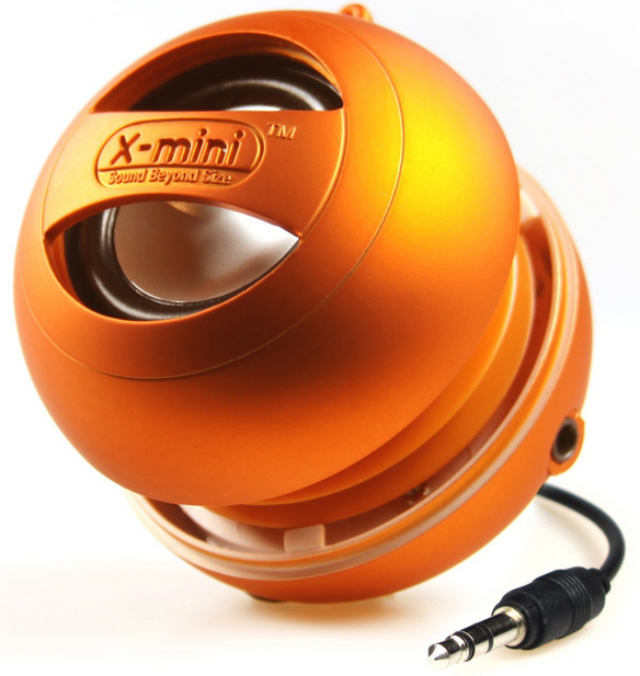 Xm-i X-mini II orange enceinteportable.fr